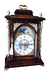 ANTIQUE MANTEL AND BRACKET CLOCKS